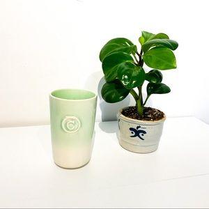 "ANTHROPOLOGIE Monogram ""C"" Mug Vase"